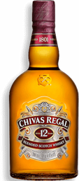 Whisky 12 Años Chivas Regal 750ML