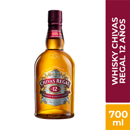 Whisky 12 Años Chivas Regal 700Ml
