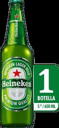 Cerveza Heineken Botella - Cerveza Importada Premium 650 Ml