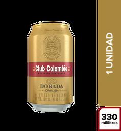 Cerveza Club Colombia Dorada - Lata 330Ml X1