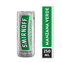 Smirnoff Green Apple -Lata 250 X1