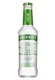 Coctel Smirnoff Ice Green Apple Botella 275 Ml