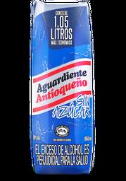 Aguardiente Azul sin Azúcar Antioqueño 1.06L