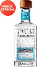 Tequila Plata Olmeca Altos 700Ml