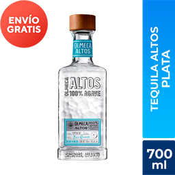 Tequila Plata Olmeca Altos 700Ml