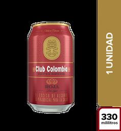 Cerveza Club Colombia Roja - Lata 330Ml X1