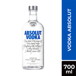 Vodka Azul Absolut 750Ml