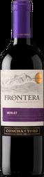 Vino Merlot Frontera 750Ml