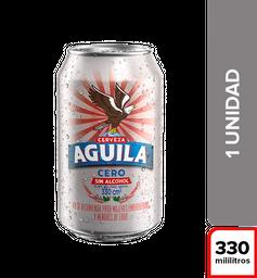 Cerveza Aguila Cero - Lata 330Ml X1