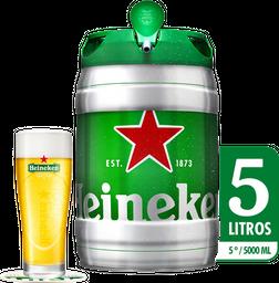 Barril De Cerveza Heineken - 5 Litros Cerveza Importada Premium