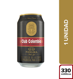 Cerveza Club Colombia Negra - Lata 330Ml X1