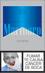 Cigarrillos Marlboro Ice Xpress Cajetilla 20 Unidades