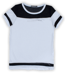 Camiseta F Blanca ref. GF1100384N000
