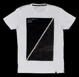 Camiseta M Blanca Estampada ref. GM1101408N000