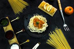 Spaguetti en Salsa Marvilla