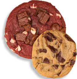 Galletas Red Velvet + Chocolate Chunk