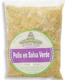 Pollo  Salsa Verde (En Julianas)