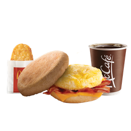 Combo Bacon McMuffin™ con Hash Brown™