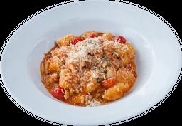 Pasta Casera Napolitana Con Pollo