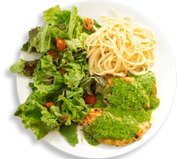 Pechuga de Pollo en Salsa Pesto