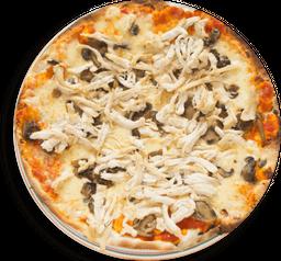 Pizza Pollo Funghi