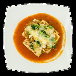 Lasagna Vegetariana Crocante