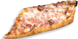 Pizzeta Jamón y Queso  🍕