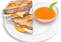 Grilled cheese y pomodoro