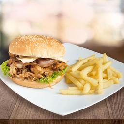 Porkcina Burger