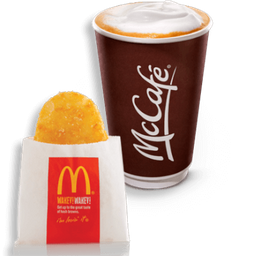 Hash Brown™+ Café Negro 12 Oz