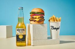 Combo Double Cheeseburger