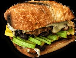 Sándwich De Ropa Vieja