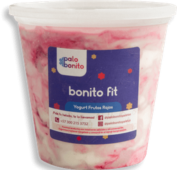 Litro Bonito Fit - Yogurt