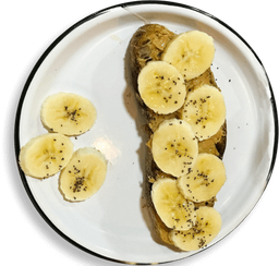 🍞 Tostada Bananut