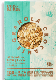 Granola, Almendra, Chia y Coco