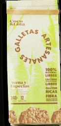 Galletas de Avena y Especias 40gr