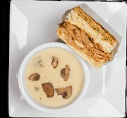 🥪🥘Combo ½ Sándwich + Sopa
