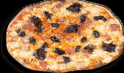 Pizza Rústica Ciruela e Tocineta