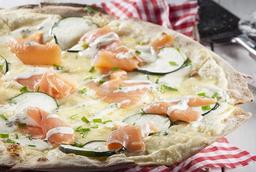 Pizza Rústica di Salmone