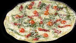 Pizza Rústica Pesto e Tomate Seco