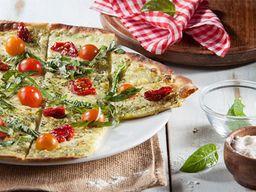 Pizza Rústica Pesto y Tomate Seco