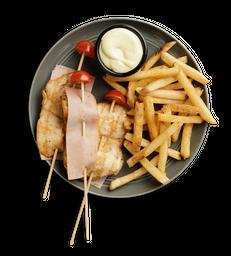 Combo Pinchos de Pollo y Jamón