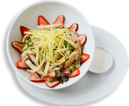 Ensalada Frutas & Pollo