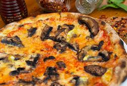 Pizza Provolone y Portobello