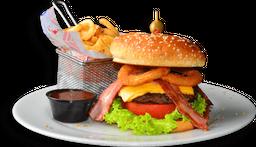 🍔 Western BBQ Burger 🍟