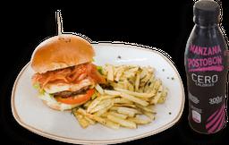 2x1 hamburguesa De la Casa