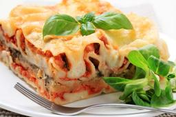 Lasagna de Pollo.