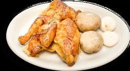 🍗Medio Pollo Asado