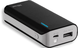 Bateria Portátil Primo 4.400 Mah Negro