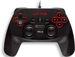 Control Gxt 540 Wired Pc-ps3 Negro